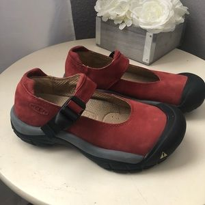 Keen Red Mary Jane Shoes